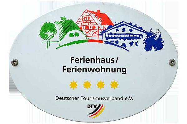 Zertifizierte Vier-Sterne-Wohnung